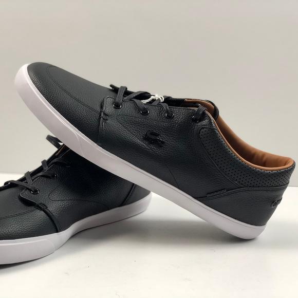 Lacoste Bayliss Vulc Prm Black Leather